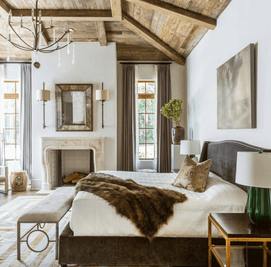 اتاق خواب مزرعه ای